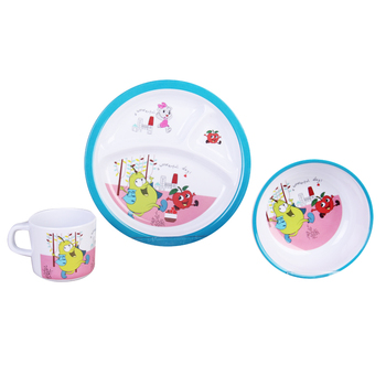 FDA Melamine Kids Christmas Plate Melamine Bowl And Plate Dinner Set  sc 1 st  Alibaba : melamine dinnerware kids - pezcame.com