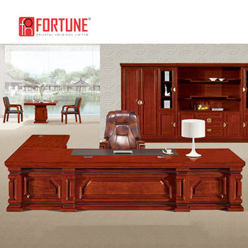 Large Size Luxury Ceo Office Desk Executive Furniture Foh A1838