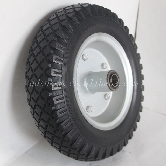 12 Inch 12x3.00 Flat Free Sand Cart Wheel Tires