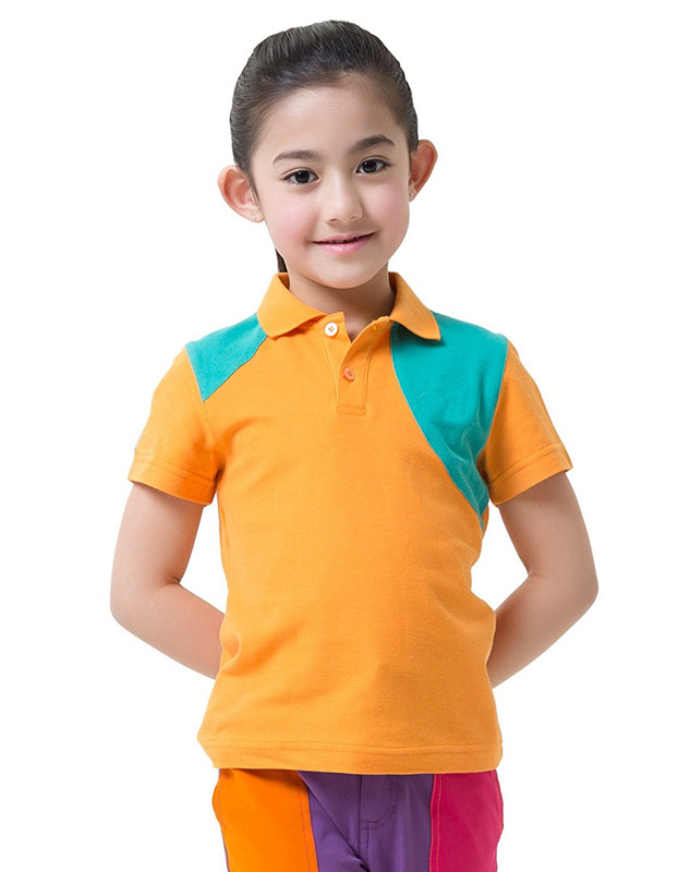athletic apparel manufacturers quality blank two color pique kids polo shirts custom school kids polo shirts dry fit sports OEM