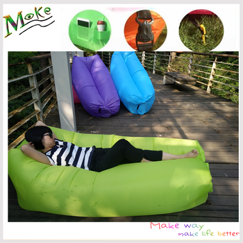 Christmas Gift 2017 Hot Summer Camping Portable Air Bag Waterproof Inflatable Bean Chair Outdoor