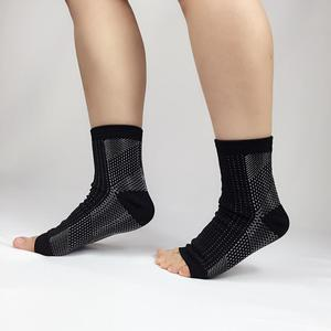 Ankle support compression fittings sleeve