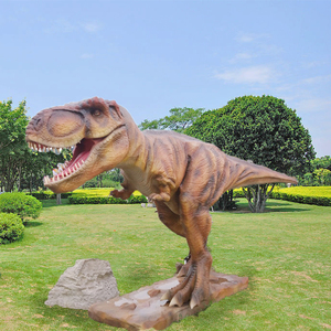 Handmade Life Size Infrared Control Dinosaur Model