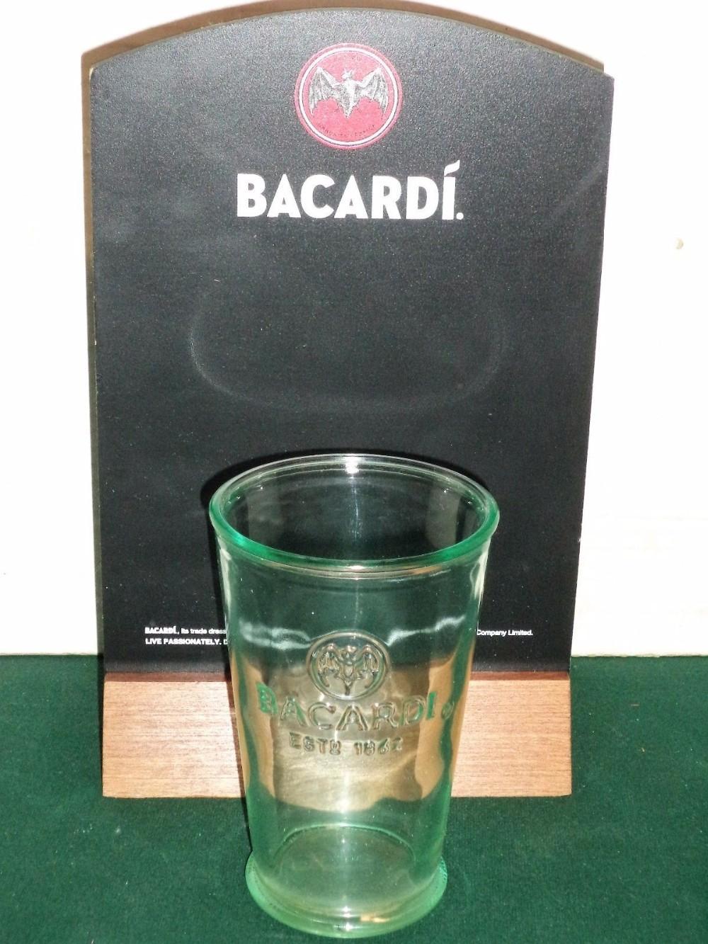 Bacardi Pub Glasses