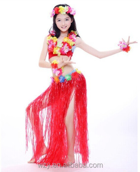 3040984b80d3 5pcs Kids Belly Dance Costumes Hawaii Costumes - Buy Kids Belly ...