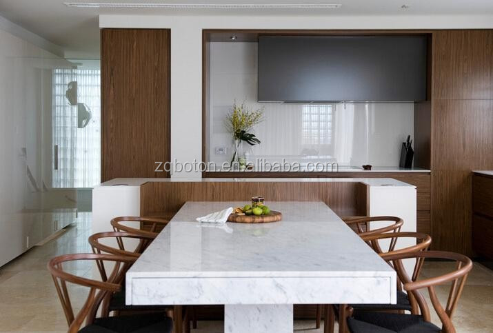 bianco carrara wit marmeren tafelbladen steen werkbladen voor de ...
