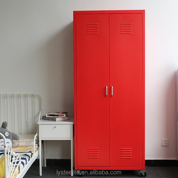 Metal Furniture Bedroom Modular Iron Almari Different Colour Steel Almirah Designs