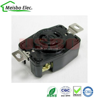 ABS 20A 125V copper america US NEMA L5-20R electrical meter socket