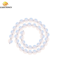 2016 Round Natural Synthetic Opal Beads for Jewelry Making DIY Fit bracelet necklace Wholesale China Alibaba