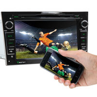 EONON Black 7 Inch Digital Touch Screen Car DVD Player with Screen Mirroring Function& Built-in GPS For OPEL