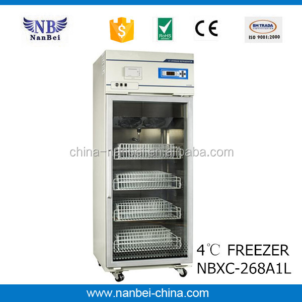 196L chest medical freezer for vaccine storage