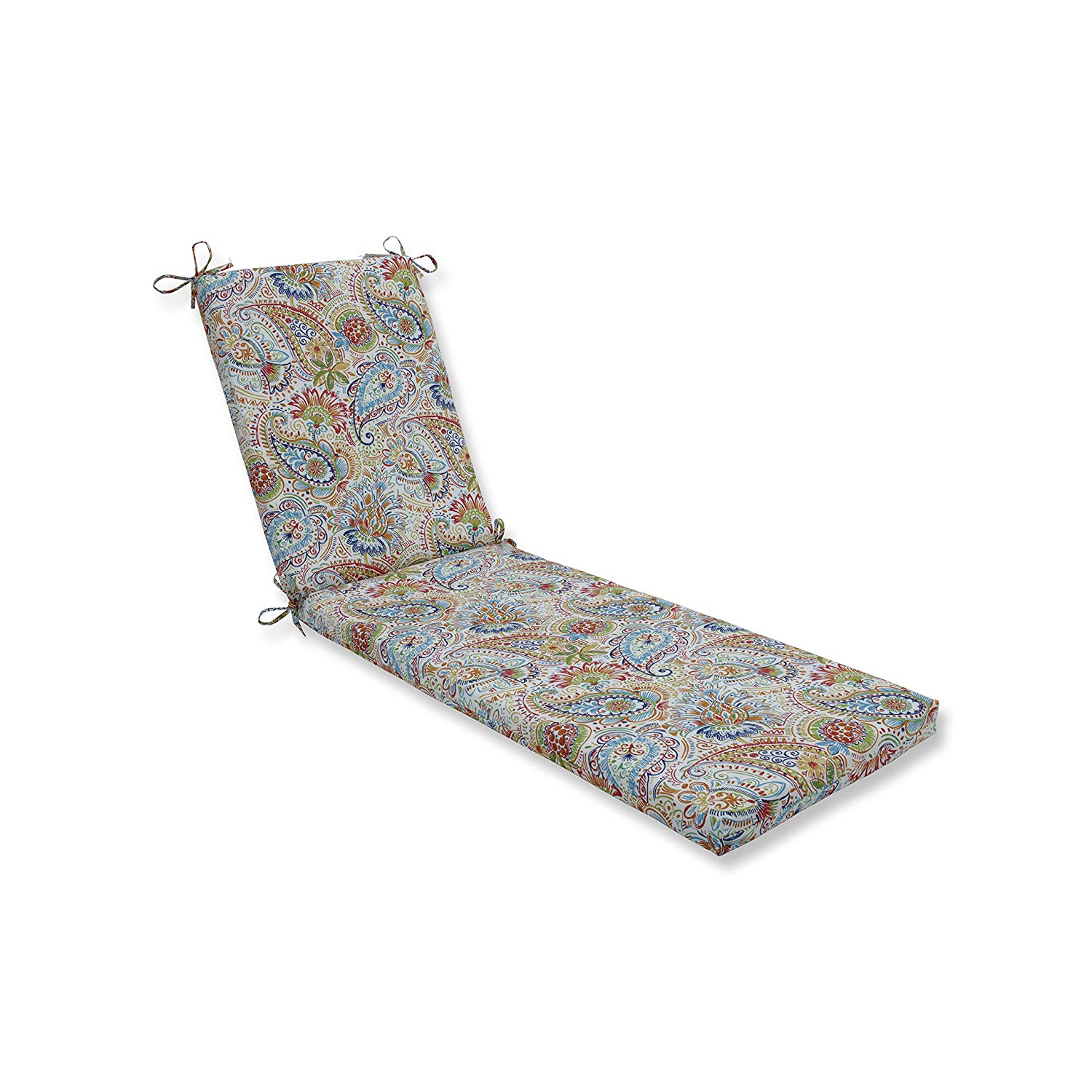 """Pillow Perfect Indoor/Outdoor Gilford Festival Chaise Lounge Cushion, 80"""" x 23"""" x 3"""""""