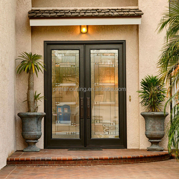 New Prehung Small French Doors Exterior Back Doors With Glass Buy