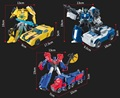 With Package 5 styles Transformation Robot Cars Autobots and prime Toys Action Figures Classic Toys For