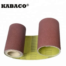 abrasive sanding belt gxk51 for stainless steel