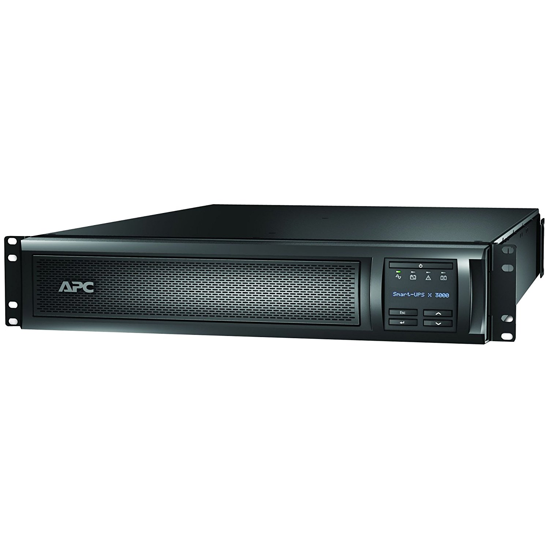 APC Smart-UPS X SMX3000RMLV2U 3000 VA Rack-mountable UPS. SMART UPS X 3000VA RACK/TOWER LCD 100-127V UPS. 3 kVA/2.70 kW - 2URack-mountable 0.10 Hour Full Load - 1 x NEMA L5-30R, 3 x NEMA 5-15R, 3 x NEMA 5-20R