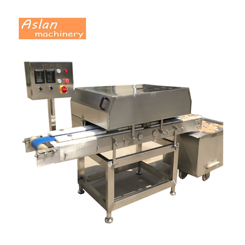 automatic fresh chicken breast slicer/pork beef steak slicing cutting machine/mutton tender meat bacon slicer cutter