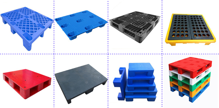 face hape steel 1200*1000*150euro reinforced hdpe plastic pallet made in china hdpe palletstorage pallets