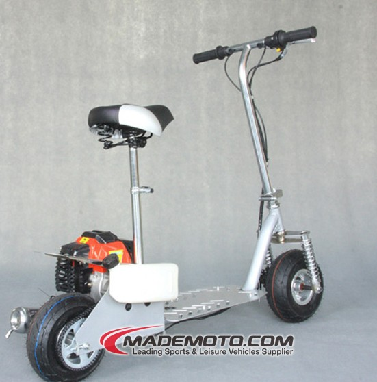 49cc gas powered scooter con slitta four season uso
