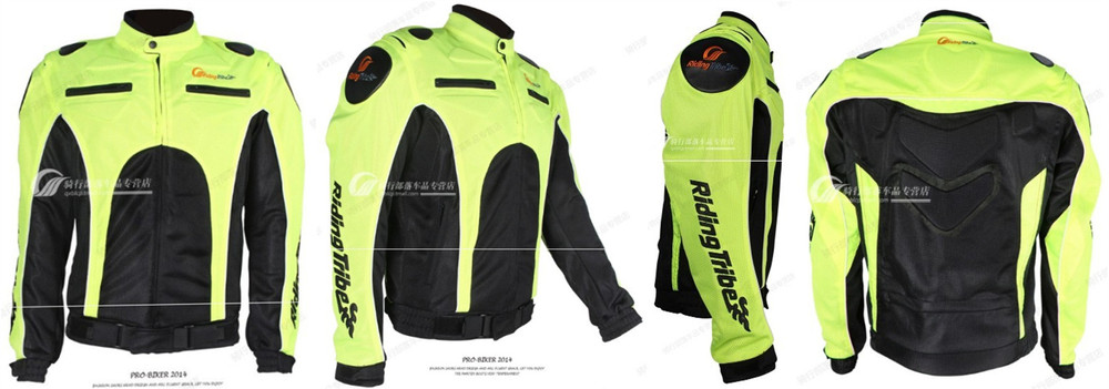 Motorcycle Jacket Anti-UV Breathable Plus Size Protection Racing Clothing Summer Full body armor motorbike protection gear
