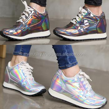 scarpe da ginnastica tacco alto
