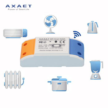 AXAET Wifi Remote Controlled digital 220v Light Smart Switch for smart home