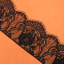 sexy black lace for lingerie lady girl women dress accessories elastic 15*300cm