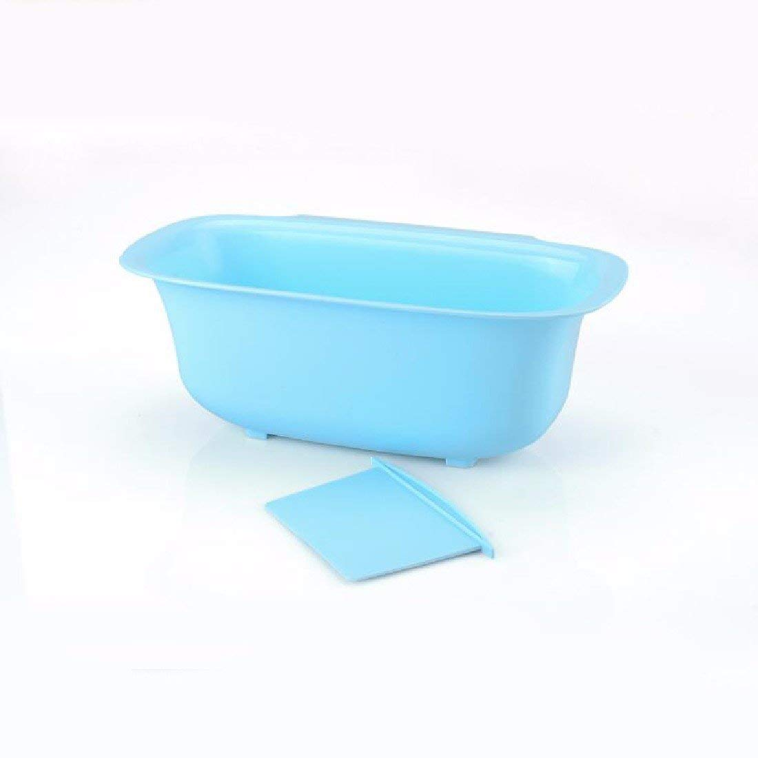 HQLCX-Rubbish Bin Rubbish Bin Kitchen Trash Bin Cabinet Door Hanging Sundry Bucket Creative Desktop Plastic Trash Can 3,Blue