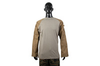 Durable War Game Camouflage Combat Army Battle Dress Uniform Military Hunting Uniform BDU Shirt CL34-0032