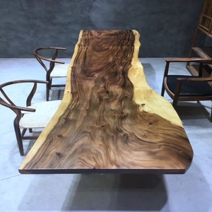 Solid reputation rustic wood table