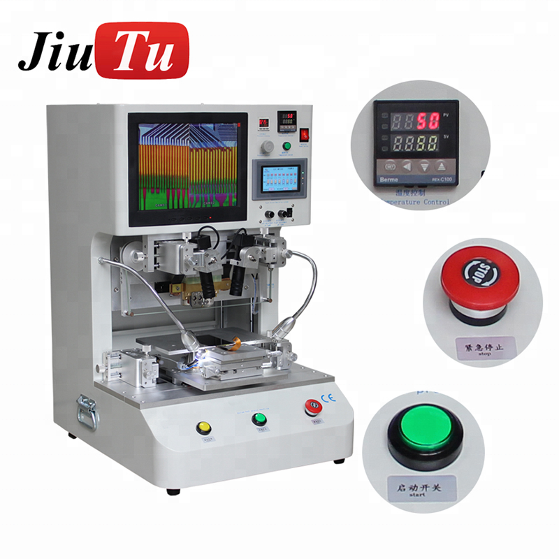 Jiutu Flex Kabel Machine LCD Scherm Reparatie Machine Puls Hete Pers LCD Flex Kabels Lint FPC ACF Bonding Machine