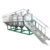 Certificated supplier small scale cottonseed oil refinery plant installation service