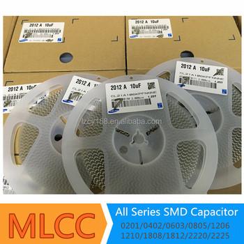 Ceramic Capacitor Mlcc 10uf 6 3v 10v 16v 25v X5r 0805