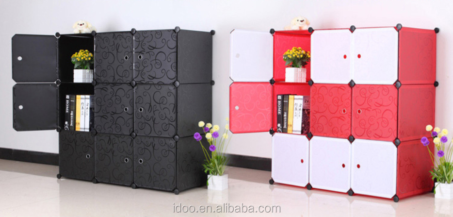 9 Cubes Small Wardrobes Pp Plastic Material Diy Magic Cubes Baby ...