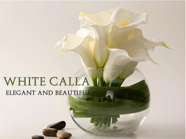 Ss Flowers Arrangement Calla Lily Decorative Handmade Artificial ...