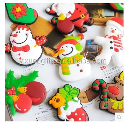 The best christmas gift of christmas fridge magnets/snowman fridge magnet