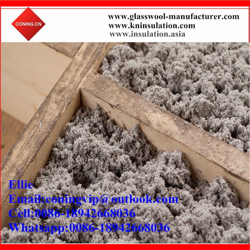 Mineral fiber wool Blown-In Insulation/Sprayed loose wool