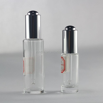 20ml 40ml serum glass bottle with lotion pump and cap