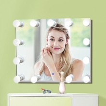 CE Certificated make up mirror Frame Hollywood hollywood Estilo LED
