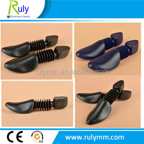 high quality cheap adjustable plastic shoe trees