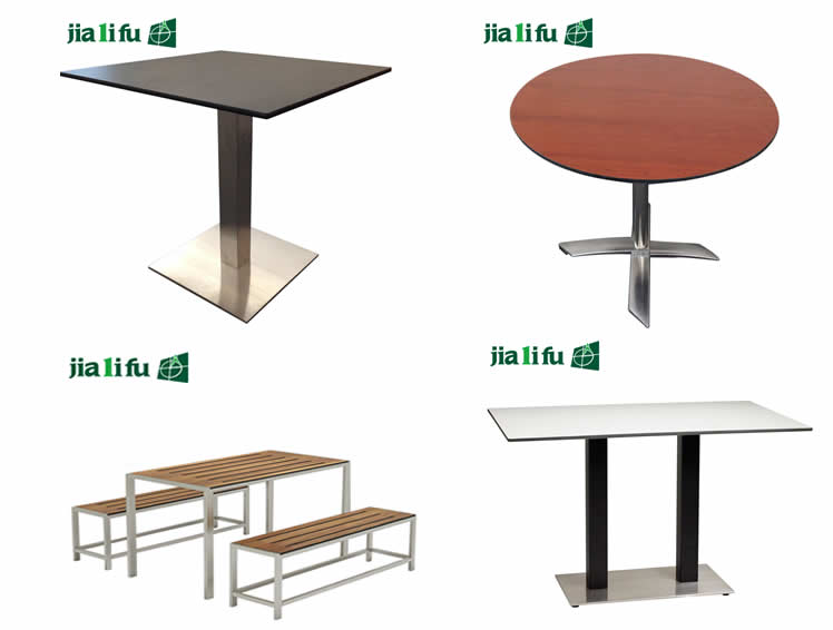 Guangzhou Jialifu modern hpl wood dining table designs