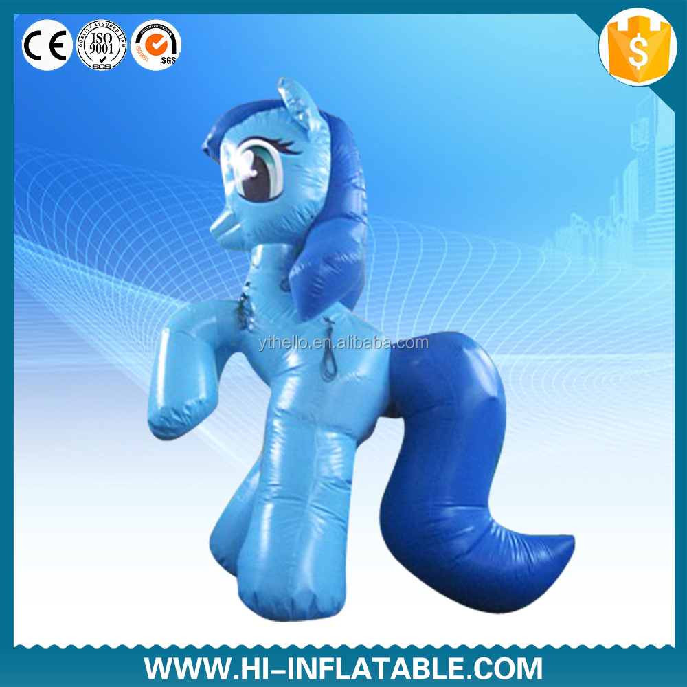 fashion design lovely inflatable horse for sale
