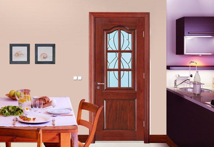 Sapelli chapa puertas interiores de madera maciza con - Puertas de cristal para cocinas ...