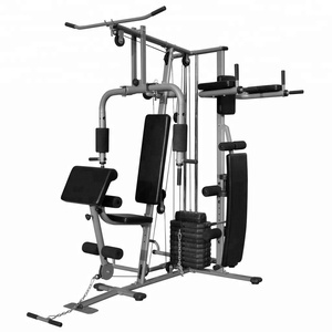 China factory all-in-one 200 LB Stack multifunction 3 statation home gym