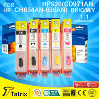 Top Compatible for HP refill ink cartridge for HP920 for Officejet 6000 Printer