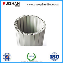 Commercial luxury space saving plastic roller shutter parts, filing cabinet tambour door, roller shutter slats