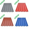 Corrugated plastic roofing sheet in China
