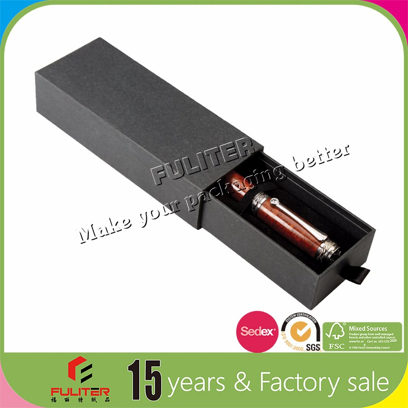 Good quality box inserts packaging for pen gift