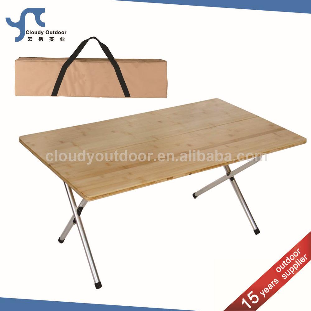 Falten Campingtisch Bambus Gartenmöbel - Buy Product on Alibaba.com