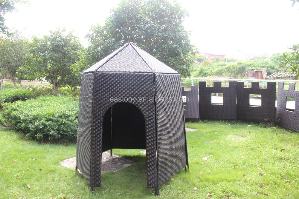 EASTONY strength Wicker Hut Ideal For Both Indoor And Outdoor
